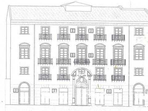Building Maqueda 1900 sqm - 15 apartments - contribution 85%